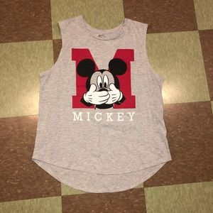 Disney Mickey Mouse graphic Tank Top Lg